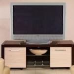 yan dolapları krem LCD tv sehpası modeli