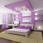 yatak üstüne asma tavan modelleri