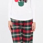 yeşil kırmızı lcw bayan pijama modeli 150x150 LCW Bayan Pijama Modelleri