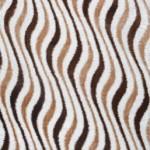 yol yol desenli ktem kahverengi pier cardin halı modelleri