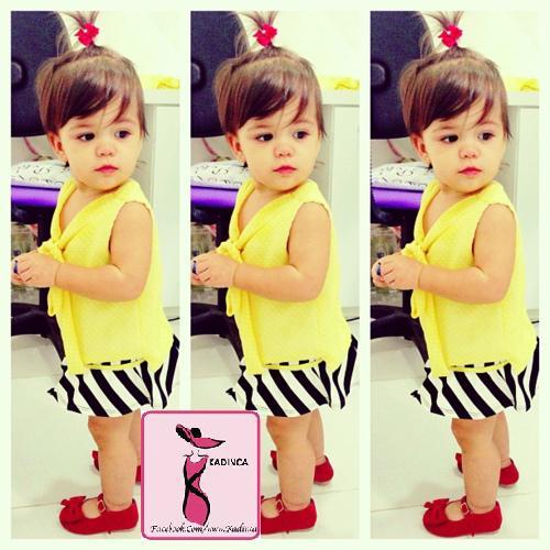 Zara Kids Kız Çocuk Elbise Modelleri