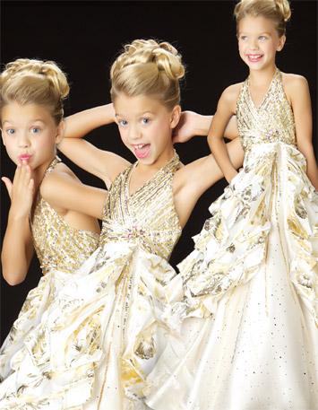 lameli taşlı sırtı açık kız çocuk abiye modelleri · Kadınca Moda